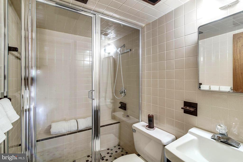 Steam Shower in lower level - 9329 GLENBROOK RD, FAIRFAX