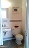Full bath with tub opens off upper foyer and mbr - 62 BRISTOL CT, STAFFORD
