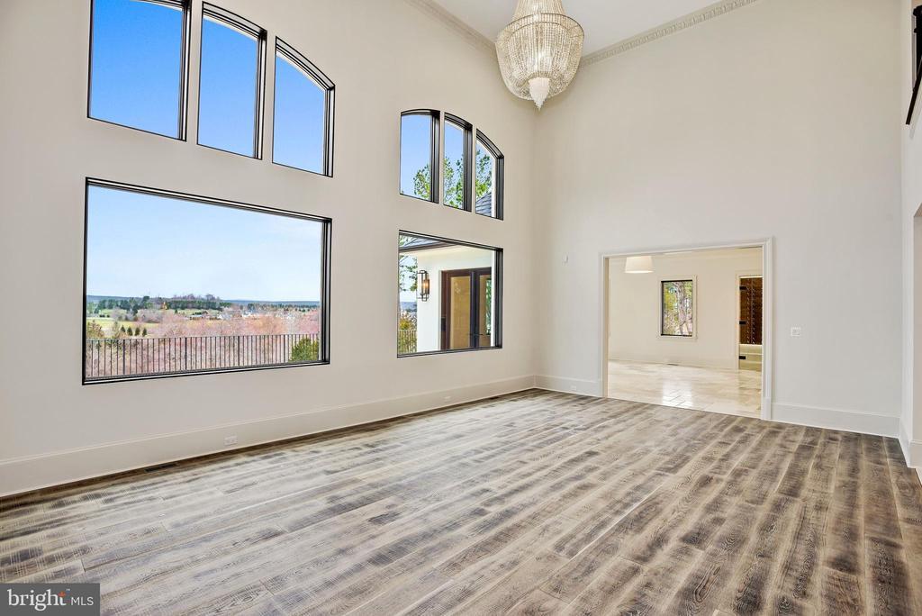 Wide plank European oak floors - 22501 CREIGHTON FARMS DR, LEESBURG