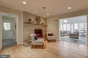 Fireplace Seating - 6108 NEILWOOD DR, NORTH BETHESDA