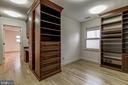 Master Walk-in Closet - 6108 NEILWOOD DR, NORTH BETHESDA