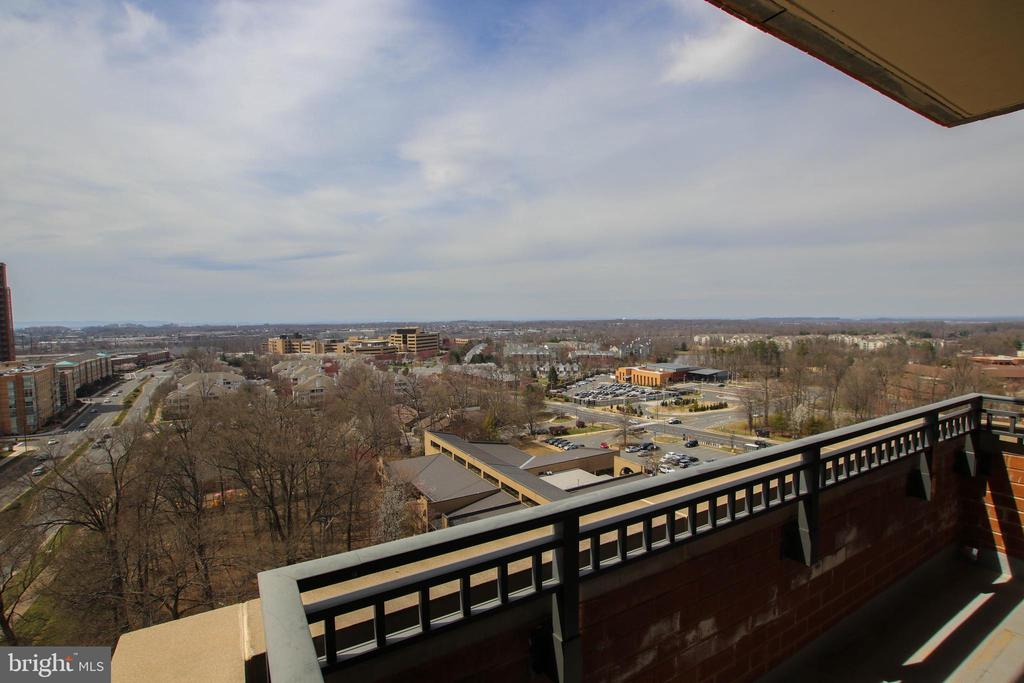 Picturesque views to the West - 1830 FOUNTAIN DR #1001, RESTON
