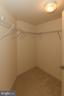 Walk in closet - 1830 FOUNTAIN DR #1001, RESTON