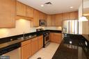 Granite countertops, stainless steel appliances - 1830 FOUNTAIN DR #1001, RESTON
