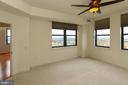 Master bedroom with northwest views - 1830 FOUNTAIN DR #1001, RESTON