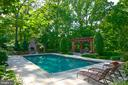 Salt-water pool - 7826 SWINKS MILL CT, MCLEAN