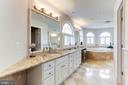 Master Bathroom - 7826 SWINKS MILL CT, MCLEAN