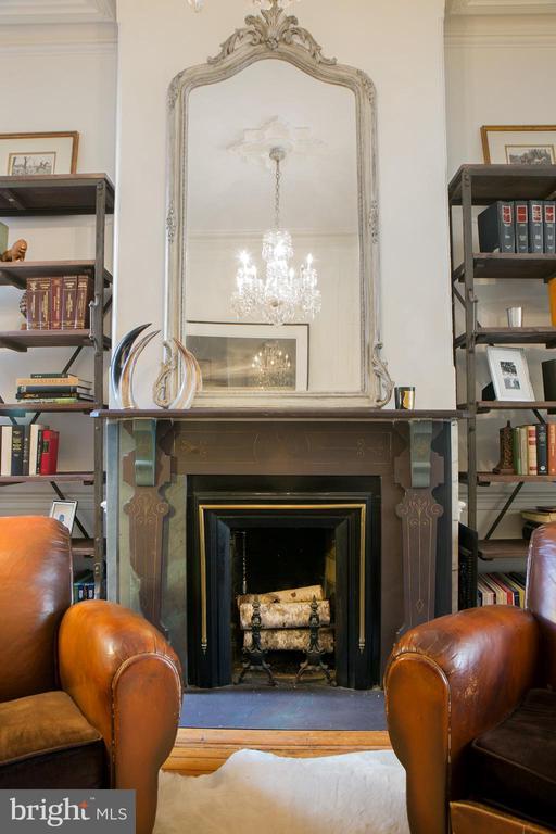 Second Parlor Fireplace - 14 4TH ST SE, WASHINGTON