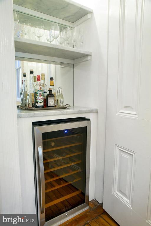 Dining Room Dry Bar with Wine Fridge - 14 4TH ST SE, WASHINGTON