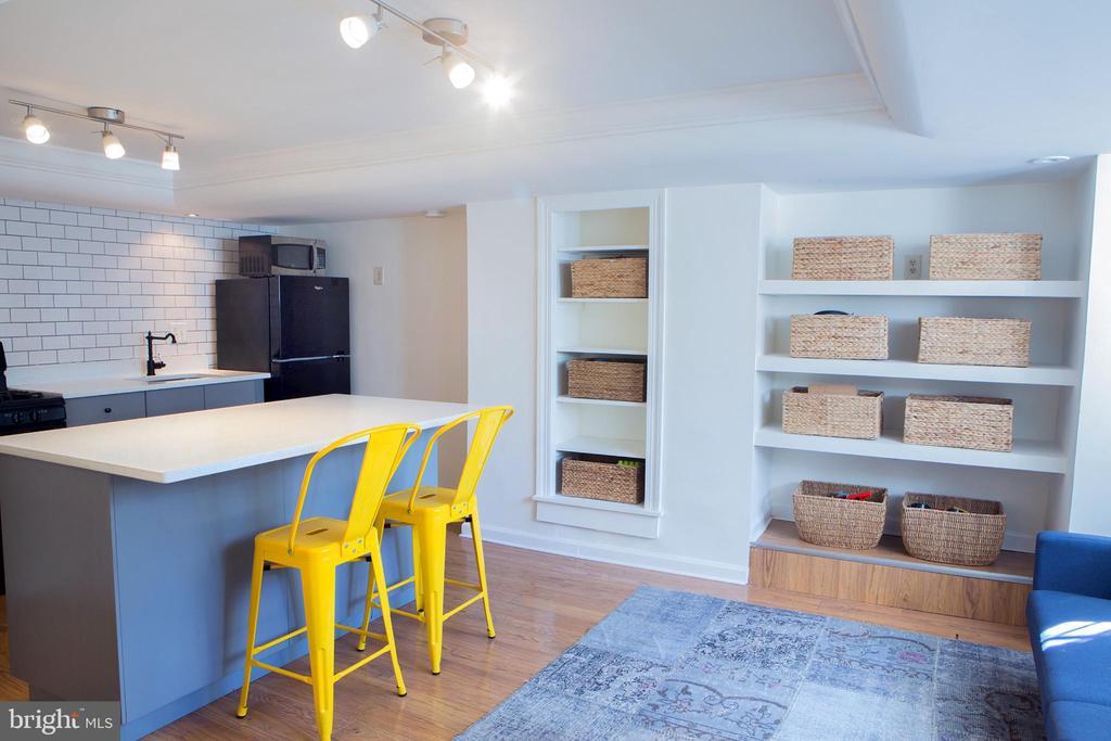 In-Law Suite Living Area Southeast - 14 4TH ST SE, WASHINGTON