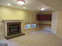 HUGE LOWER LEVEL REC ROOM - 6534 PARISH GLEBE LN, ALEXANDRIA