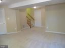 HUGHE BRIGHT LOWER LEVEL REC ROOM - 6534 PARISH GLEBE LN, ALEXANDRIA