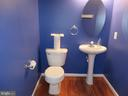 1/2 BATH POWDER ROOM ON MAIN LEVEL - 6534 PARISH GLEBE LN, ALEXANDRIA