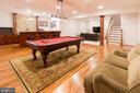 Must-see lower level has 3 other bonus rooms - 17160 SPRING CREEK LN, LEESBURG