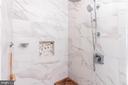 Custom, new spa shower - 17160 SPRING CREEK LN, LEESBURG