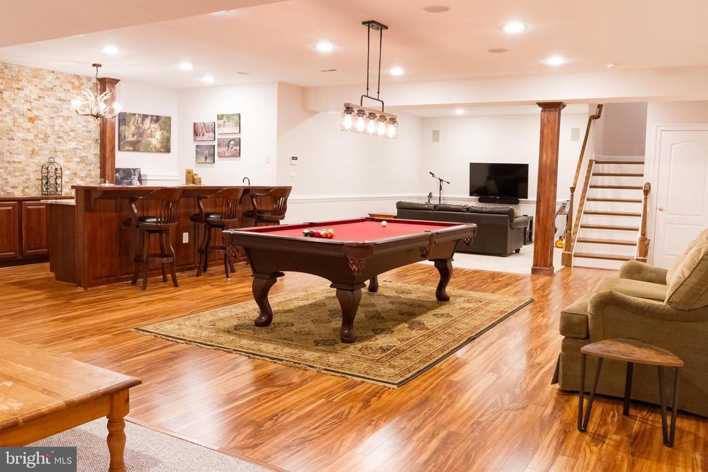 Lower level Game Room (3 add'l bonus rooms too!) - 17160 SPRING CREEK LN, LEESBURG