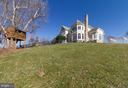 Large acreage allows horses, play, entertaining - 17160 SPRING CREEK LN, LEESBURG
