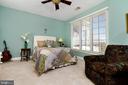 3rd of 5 bedrooms upstairs - natural light! - 17160 SPRING CREEK LN, LEESBURG