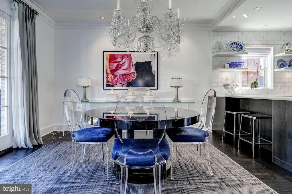 Dining Room - 1609 31ST ST NW, WASHINGTON