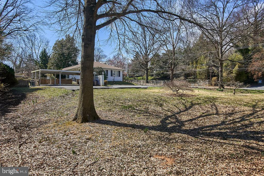 View from back corner of lot - 9221 COLESVILLE RD, SILVER SPRING