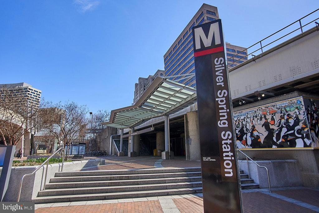 Metro Station 1.5 miles away - 9221 COLESVILLE RD, SILVER SPRING