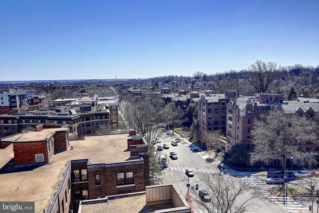 Rooftop View - 4025 CONNECTICUT AVE NW #303, WASHINGTON