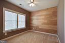 Secondary bedroom with custom wall - 25532 EMERSON OAKS DR, ALDIE