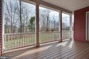 Covered deck between master and DIning - 25532 EMERSON OAKS DR, ALDIE