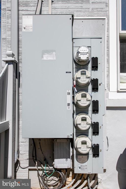 Separately metered unit - 4348 ELLICOTT ST NW, WASHINGTON
