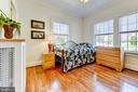 Unit #1: bedroom - 4348 ELLICOTT ST NW, WASHINGTON
