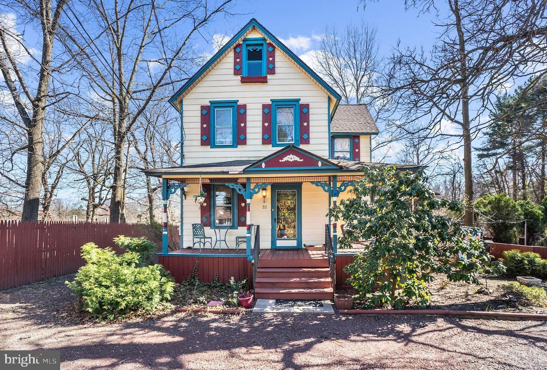 Частный односемейный дом для того Продажа на 53 KIRKWOOD Road Gibbsboro, Нью-Джерси 08026 Соединенные Штаты