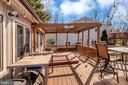 Over-sized deck for the summer gatherings - 128 HARRISON CIR, LOCUST GROVE