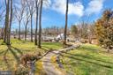Charming walkway leads to the water's edge - 128 HARRISON CIR, LOCUST GROVE