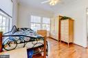Unit #1:  bedroom 1 - 4348 ELLICOTT ST NW, WASHINGTON
