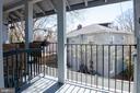 Unit #3: balcony - 4348 ELLICOTT ST NW, WASHINGTON