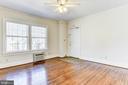 Unit #3: living room - 4348 ELLICOTT ST NW, WASHINGTON