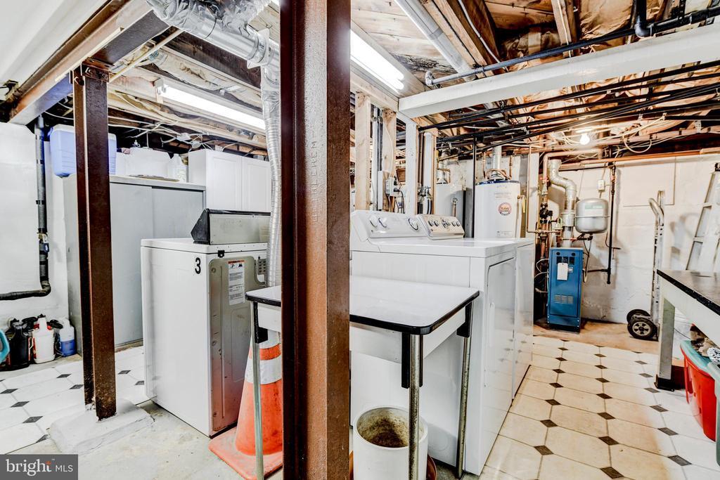 Basement/Shared Laundry - 4348 ELLICOTT ST NW, WASHINGTON