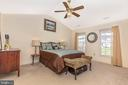 Huge Master bedroom - 115 BOSC CT, THURMONT