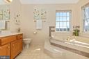 Master bath with soaking tub and shower - 115 BOSC CT, THURMONT