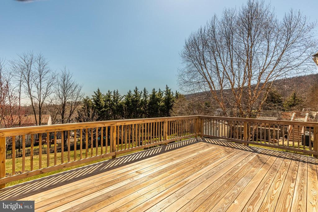 Plenty of space to enjoy the view - 115 BOSC CT, THURMONT