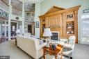 Built-in includes a gas fireplace and mantel - 5916 DEEP CREEK DR, FREDERICKSBURG