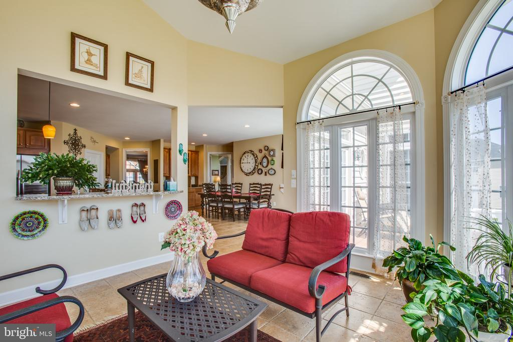 Easy access to kitchen & provides beautiful views - 5916 DEEP CREEK DR, FREDERICKSBURG