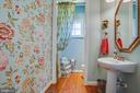Main level half-bath - 5916 DEEP CREEK DR, FREDERICKSBURG