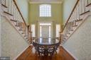 Natural light fills the home from front to back - 5916 DEEP CREEK DR, FREDERICKSBURG