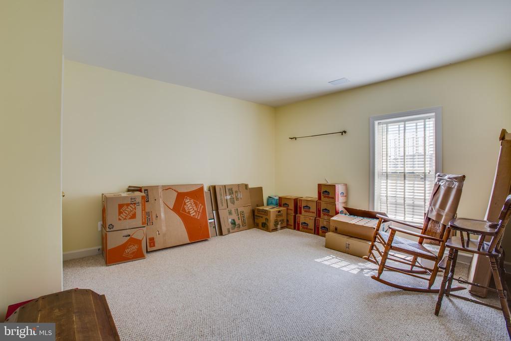 Lower level Bedroom 5 w/ ensuite & walk-in closet - 5916 DEEP CREEK DR, FREDERICKSBURG
