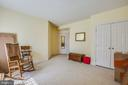 Lower level Bedroom 5 w/ ensuite & walk-in closet - 5916 DEEP CREEK DR, FREDERICKSBURG