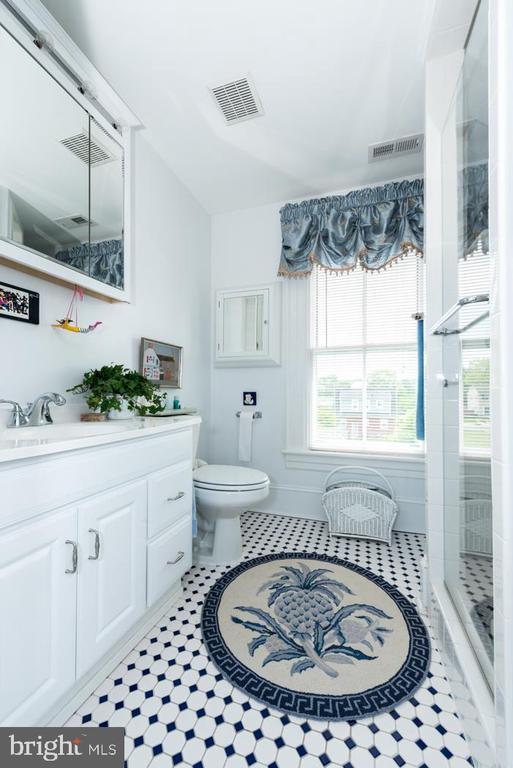 Upper-Level Master Bath En Suite with Shower. - 2010 FALL HILL AVE, FREDERICKSBURG