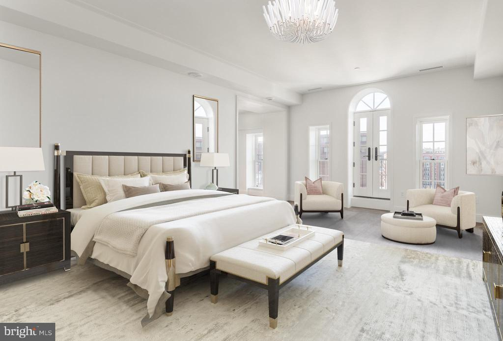 Master Suite - 2660 CONNECTICUT AVE NW #PH 3, WASHINGTON