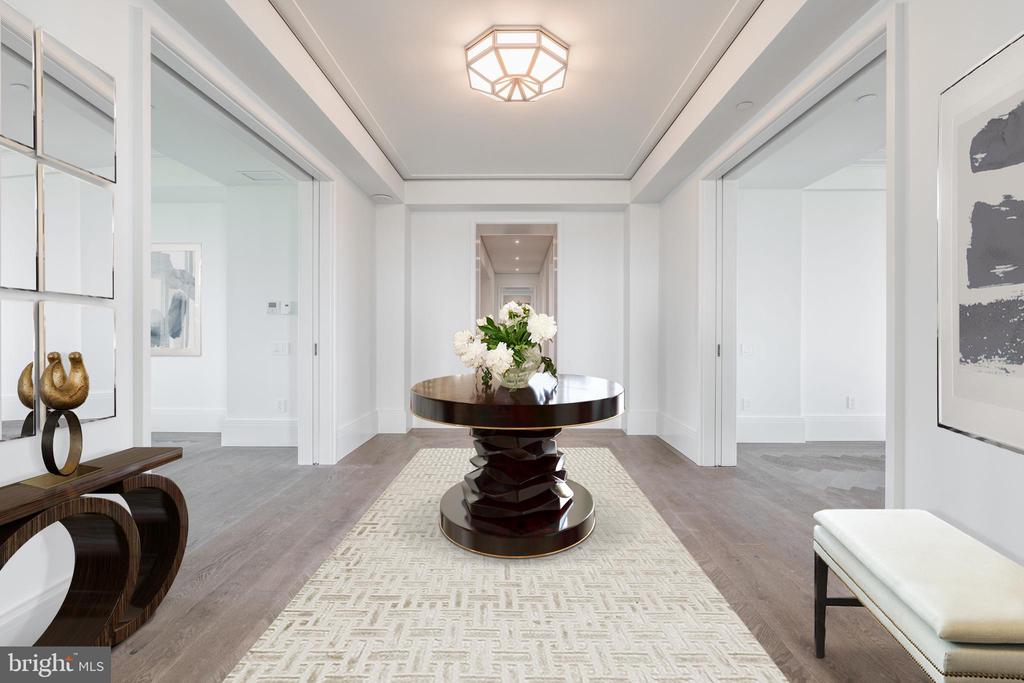 Spacious, Inviting Entry Gallery - 2660 CONNECTICUT AVE NW #7B, WASHINGTON