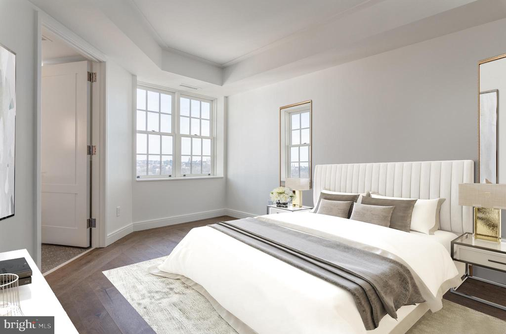 Generous Second Bedroom - 2660 CONNECTICUT AVE NW #7B, WASHINGTON